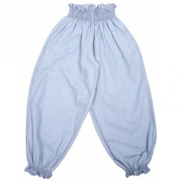 Pantalon Chambray - Bleu ciel