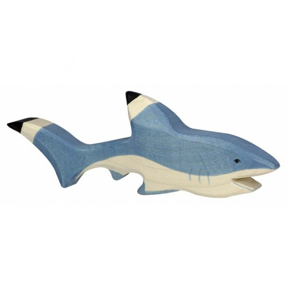 Animal en bois - Requin