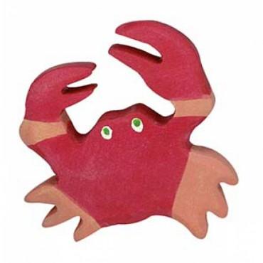 Animal en bois - Crabe