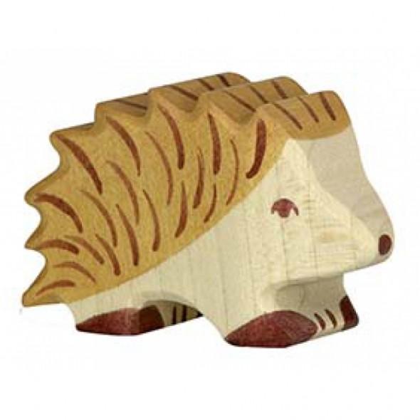 Animal en bois - Hérisson