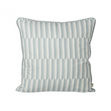 Coussin Arch - Bleu / off white