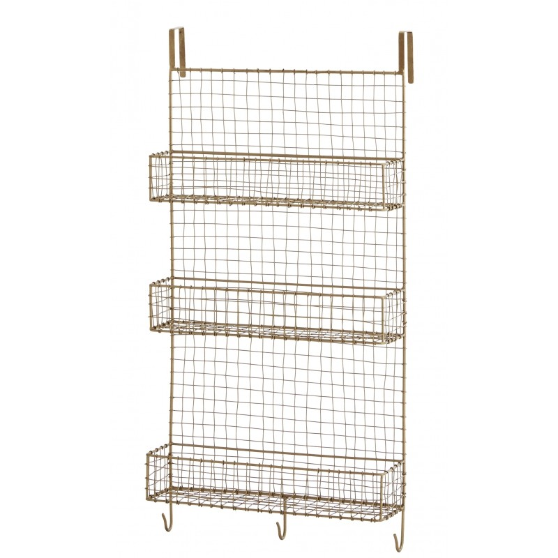 etagere murale grillagee