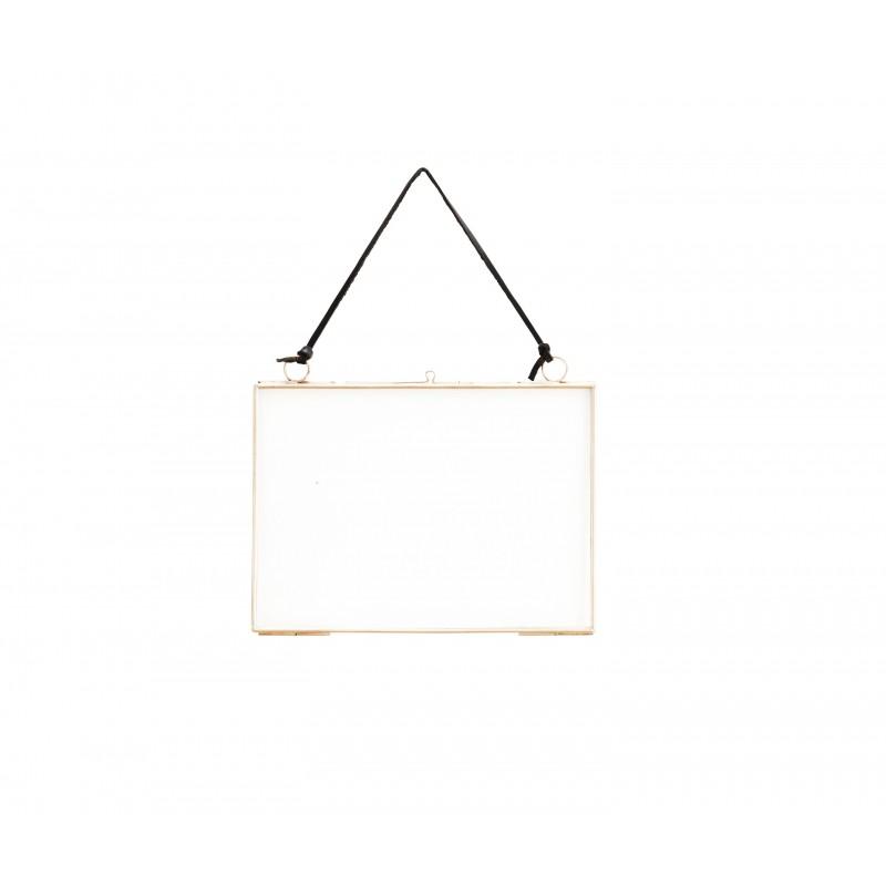 cadre photo en verre cuivre petit mod le madam. Black Bedroom Furniture Sets. Home Design Ideas