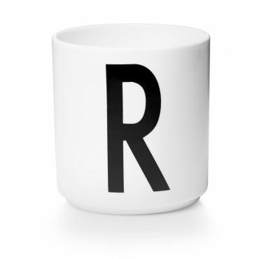 Tasse porcelaine - Lettre R