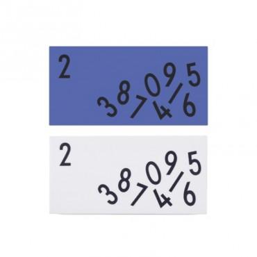 Set de 2 Gommes - Alphabet Arne Jacobsen