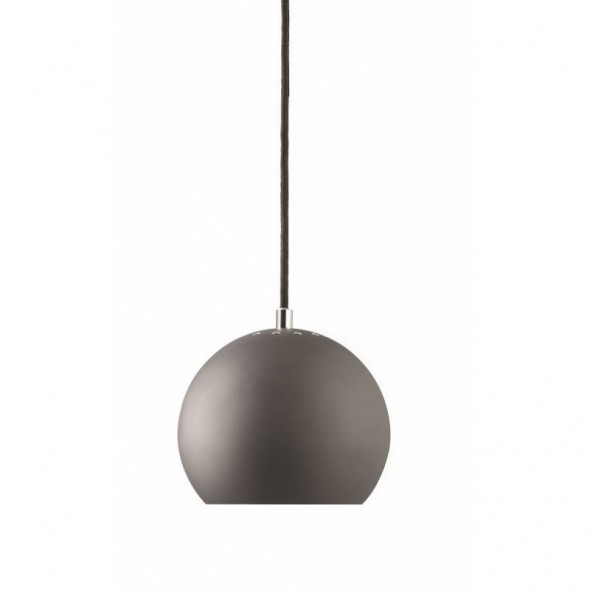 Suspension Ball  Ø18cm  - Gris mat