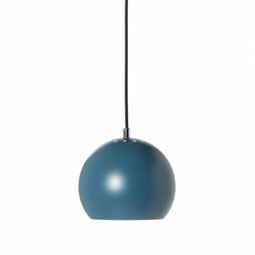 Suspension Ball  Ø18cm  - Bleu pétrole mat