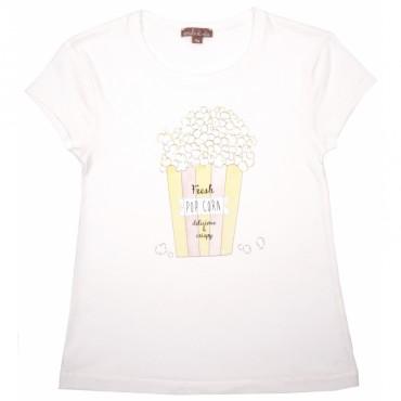 Tee-shirt Pop Corn - Milk