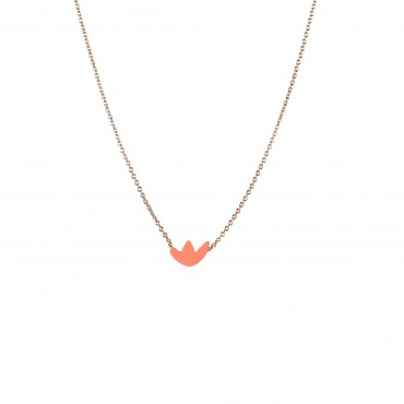 Collier - Flatbush (mandarine)