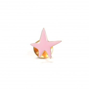 Pin's - Star (rose)