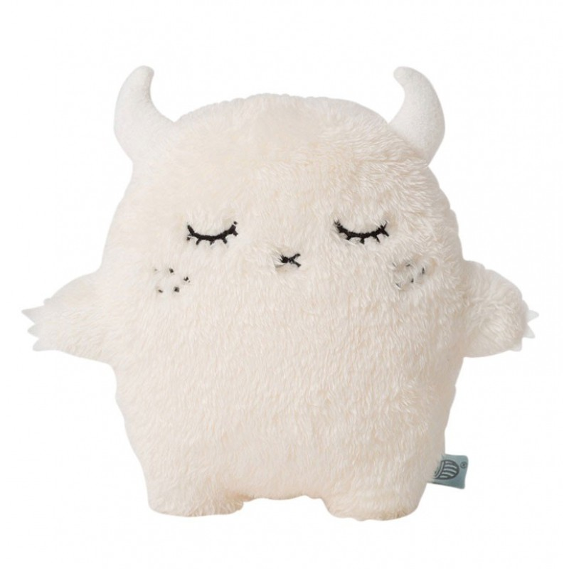 Coussin Peluche Ricepuffy (white)   NOODOLL   Perlin Paon Paon