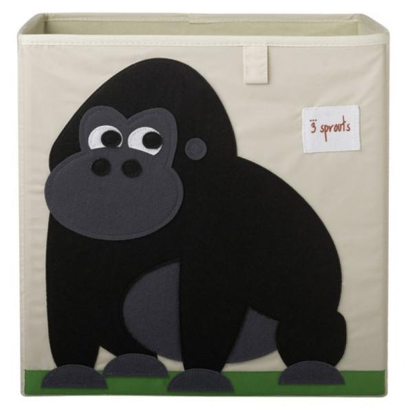Cube de rangement Gorille