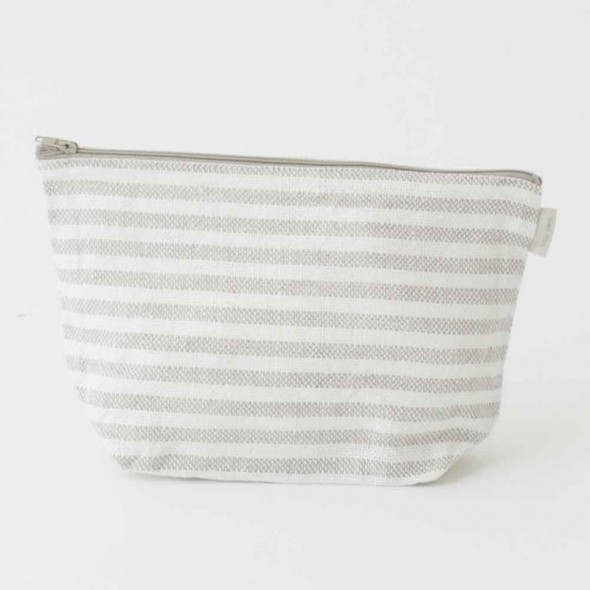 Trousse en lin - Natural Stripe