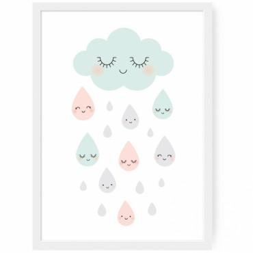Affiche Douce Pluie