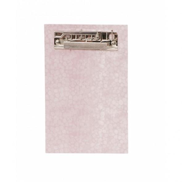 Clipboard - Rose marbré
