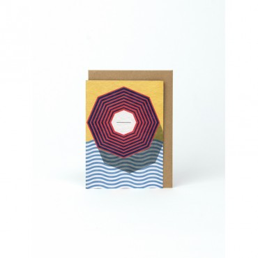 Carte postale - Plage