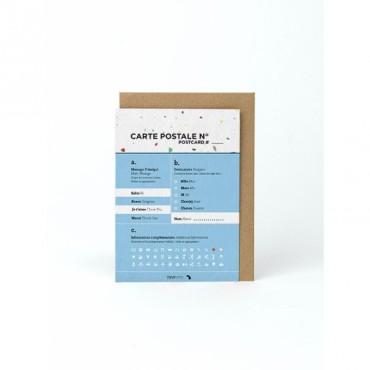 Carte postale - Fonctionnaire