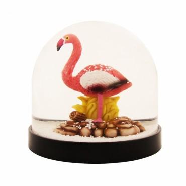 Boule à neige - Flamingo