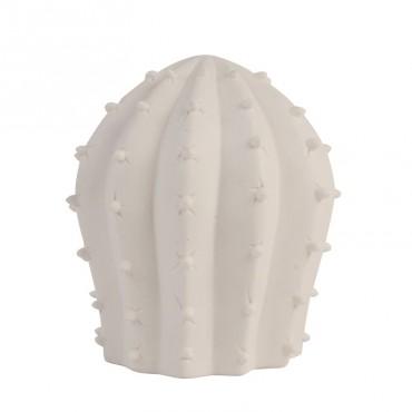 Lampe Cactus en porcelaine - White
