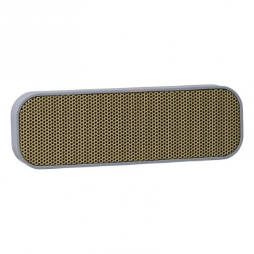 Enceinte Bluetooth aGROOVE - Cool grey & Gold