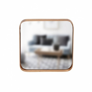 Miroir carré - Cuivre