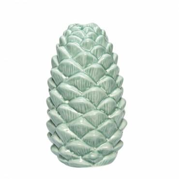 Vase cône en porcelaine - Green