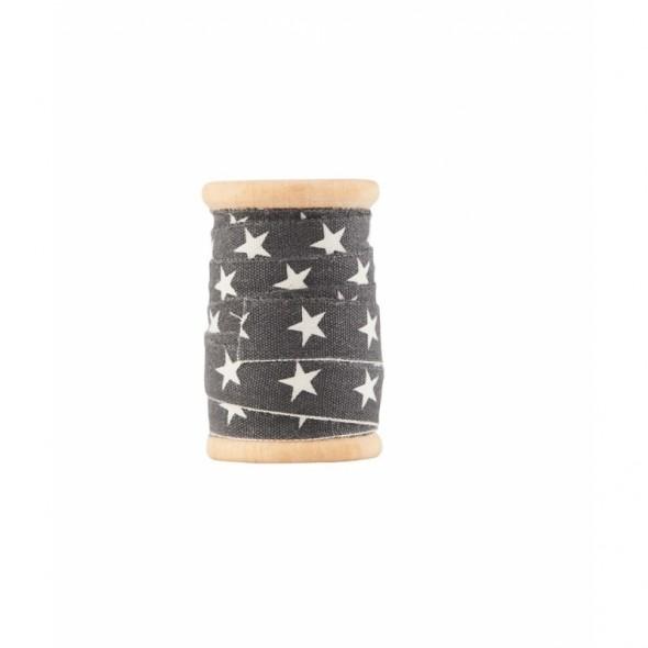 Ruban Star - Black (5 mètres)