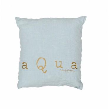 Coussin Molly - Aqua