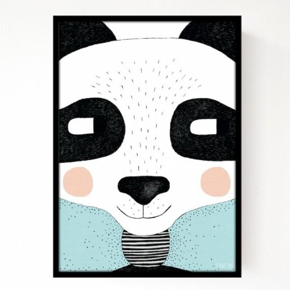 Affiche Big Panda A3