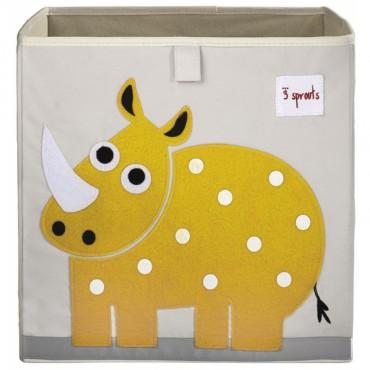 Cube de rangement Rhinocéros