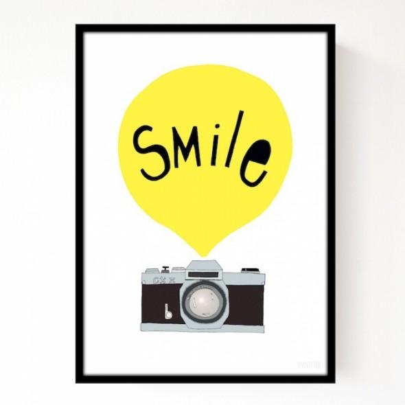 Affiche Smile A3