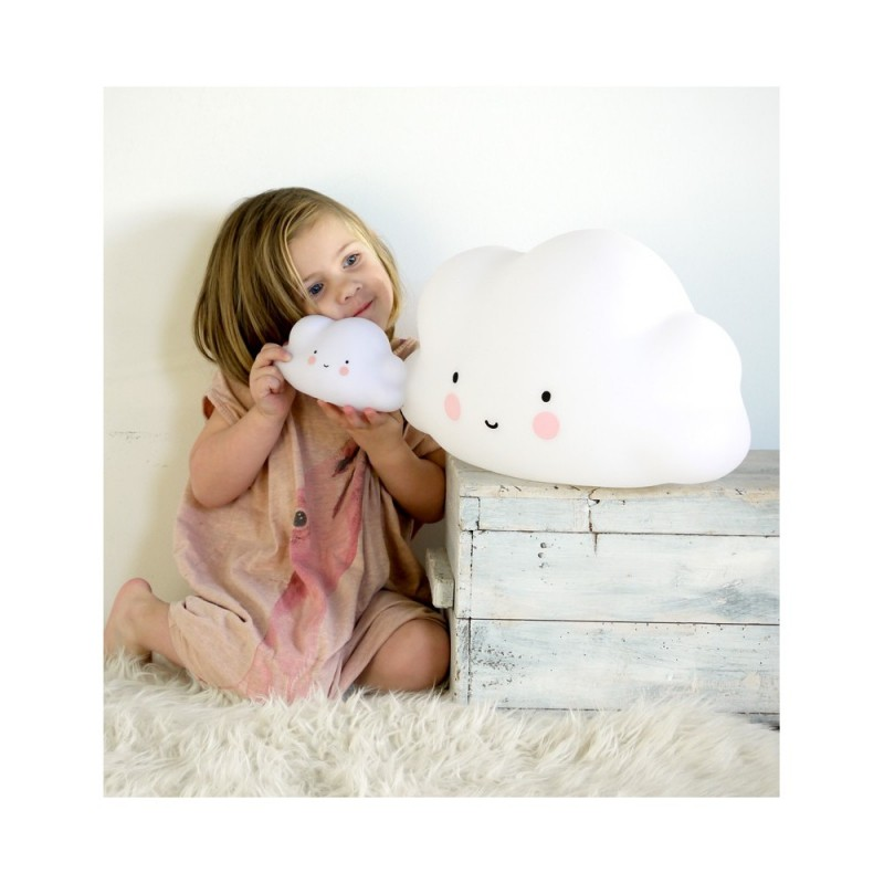 grande veilleuse nuage blanc a little lovely company. Black Bedroom Furniture Sets. Home Design Ideas
