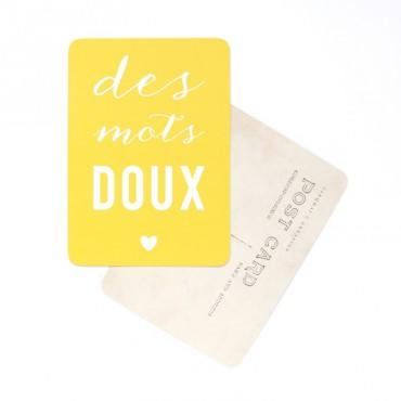 Carte Des Mots Doux - Citron