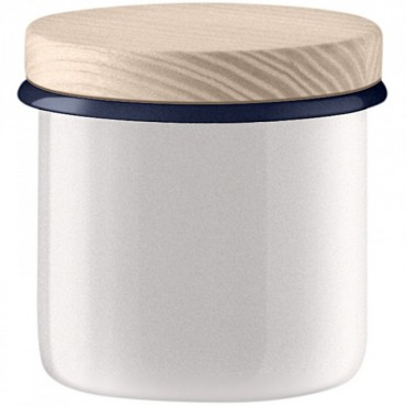 Bocal Utility avec couvercle - Blanc Ø9cm