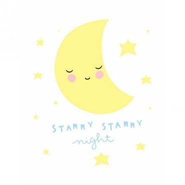 Stickers Starry Night