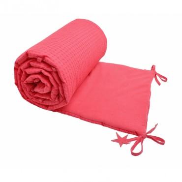 Tour de lit brodé - Pink paradise