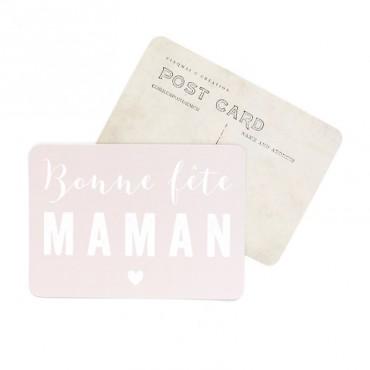 Carte Bonne Fête Maman - Nude