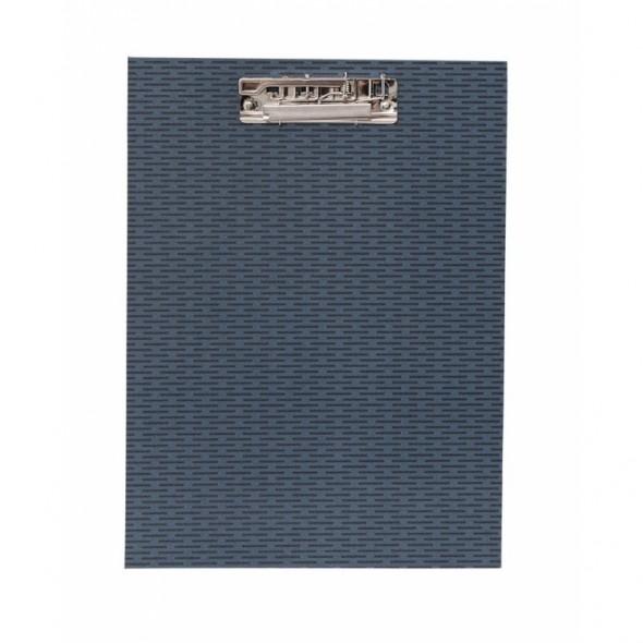 Clipboard - Bleu Traits noirs