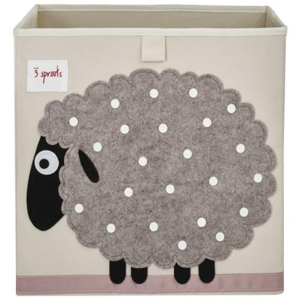 Cube de rangement Mouton