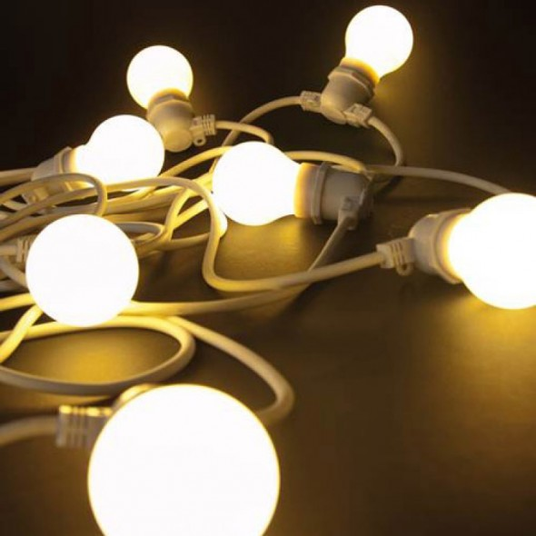Guirlande lumineuse Bella Vista - Blanc