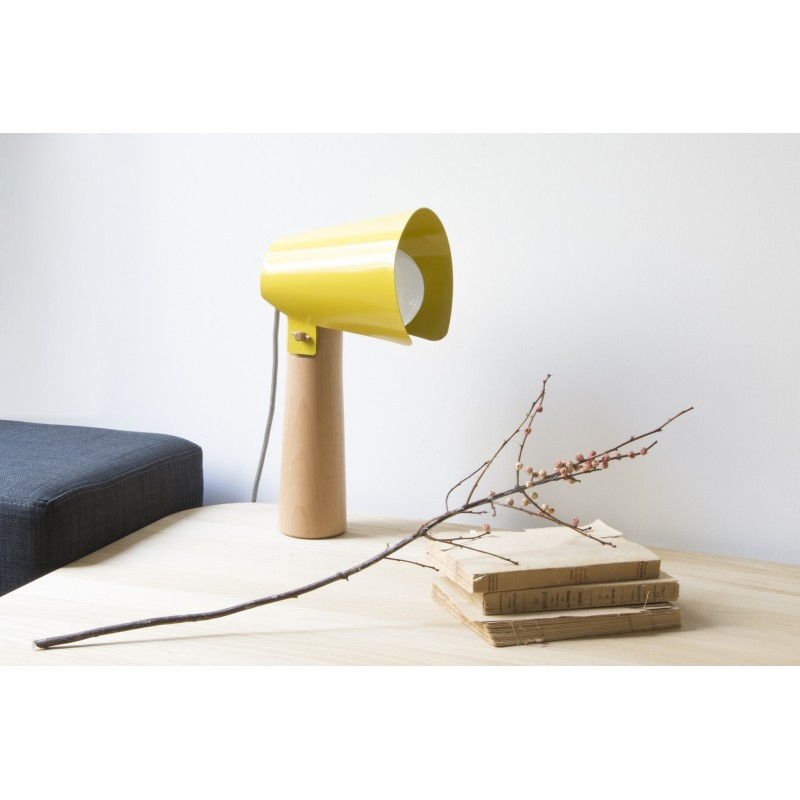 Lampe A Poser Sister Jaune Moutarde Eno Studio Perlin Paon Paon