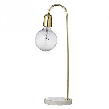 Lampe de table - Marbre / Laiton