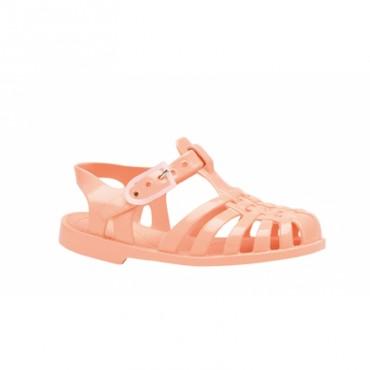 Sandales en plastique - Saumon