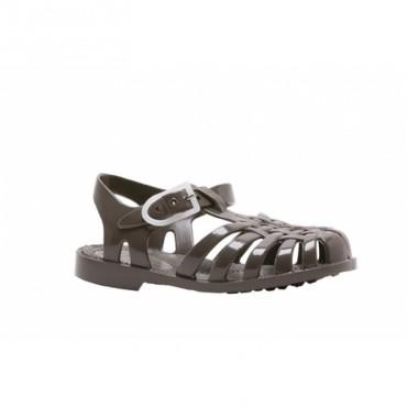 Sandales en plastique - Bronze