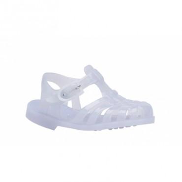 Sandales en plastique - Translucide