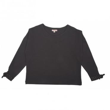 Tee-shirt noeud - Noir