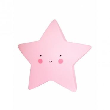 Mini Veilleuse Etoile - Pink