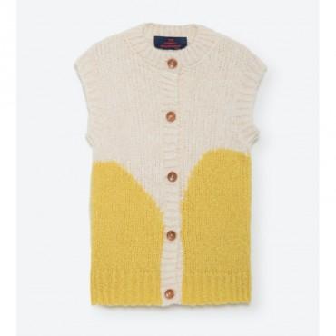 Veste tricot Monkey - Acid Yellow